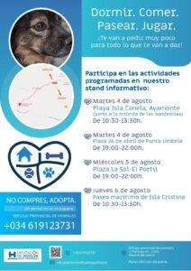 Nueva iniciativa en las playas de Huelva para fomentar la adopción