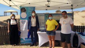 Nueva iniciativa en las playas de Huelva para fomentar la adopción_